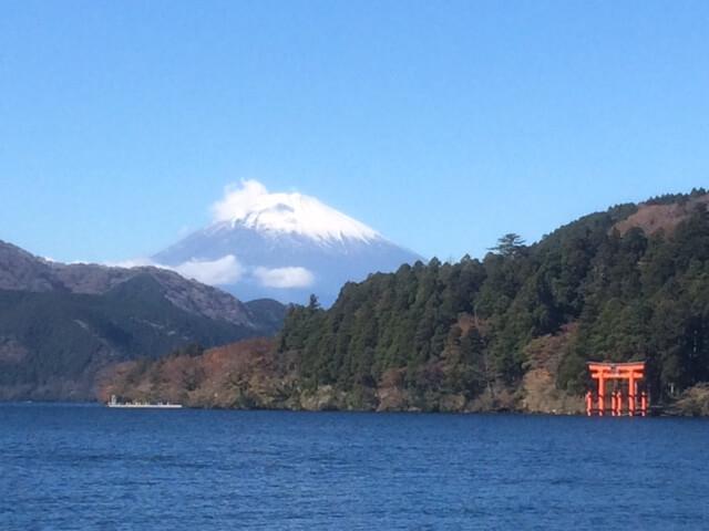 箱根芦ノ湖の景色