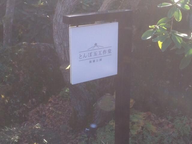 強羅公園のとんぼ玉教室