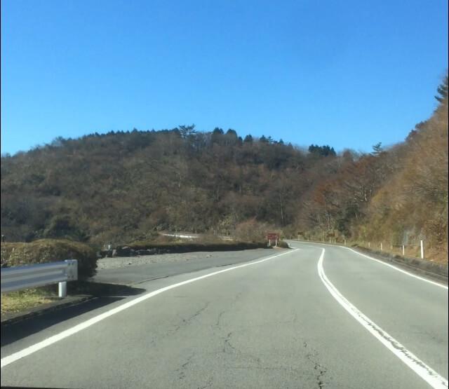 箱根ターンパイクの休憩所