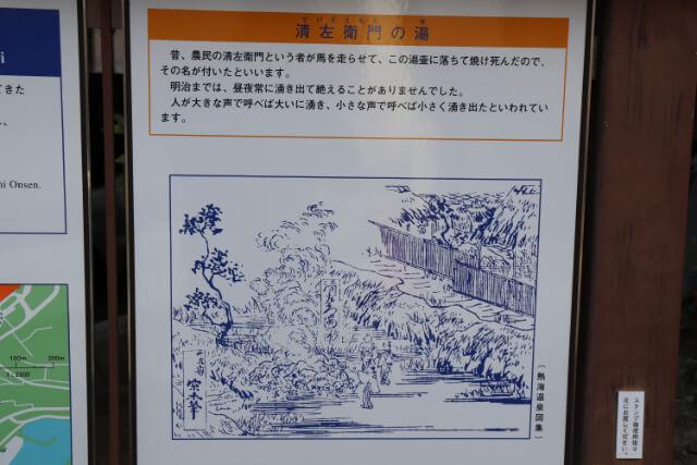 熱海七湯清左衛門の湯の解説