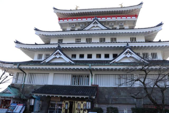 熱海城の入り口