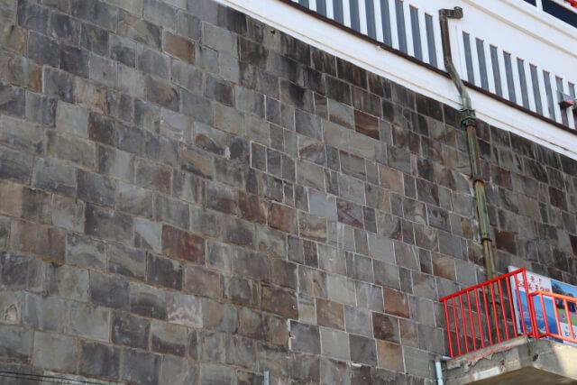 熱海城修復の跡か?