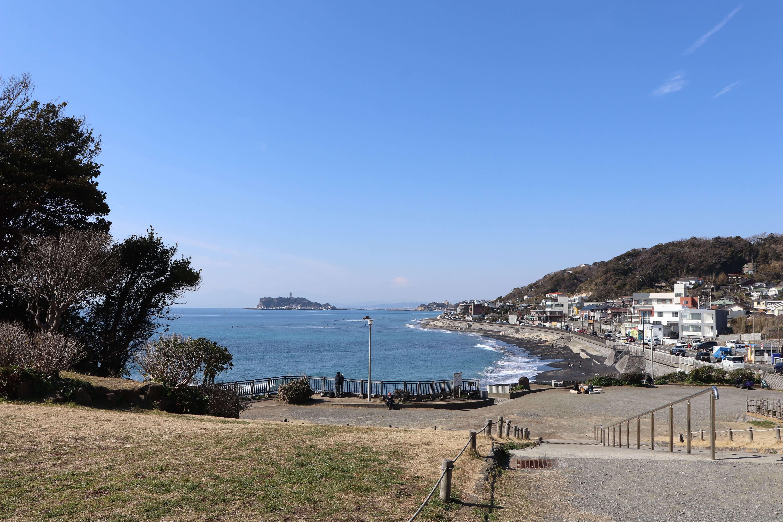 稲村ケ崎公園からの眺め