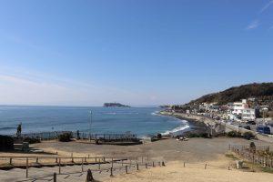 稲村ケ崎公園からの海