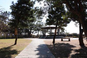 稲村ケ崎公園の奥の場所