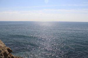新田義貞と稲村ケ崎の海