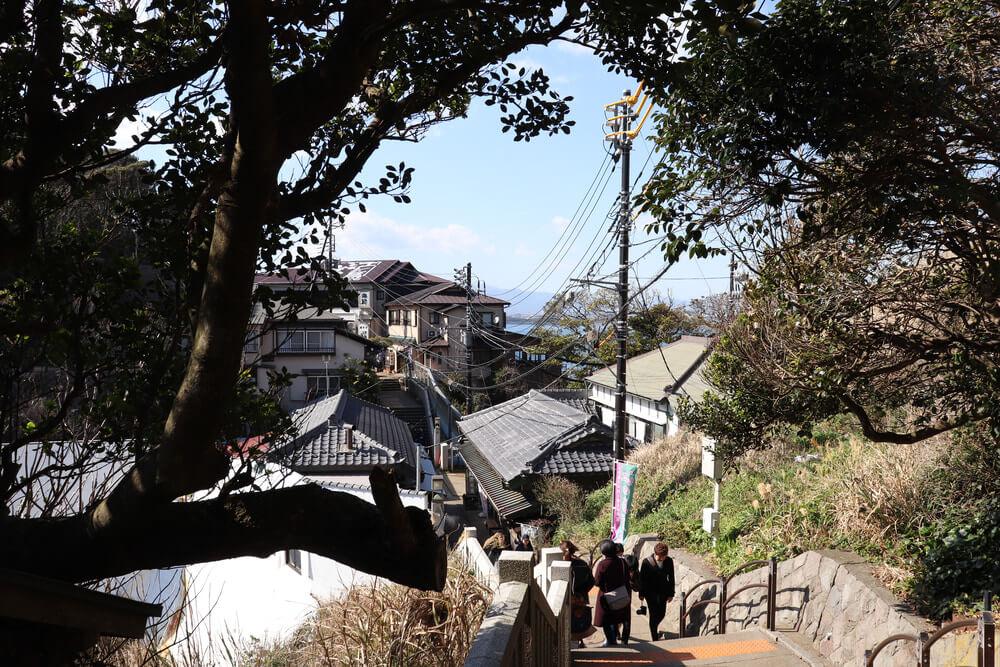 江ノ島山2つ付近