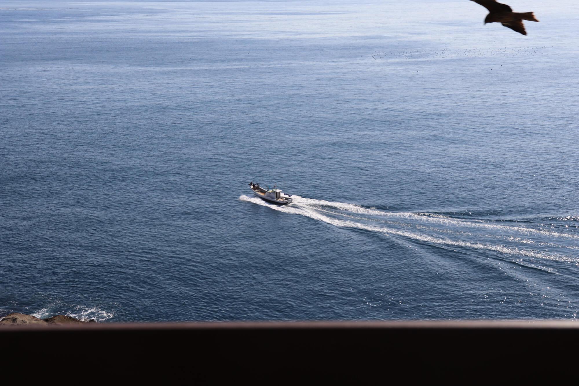 江ノ島魚見亭からの景色