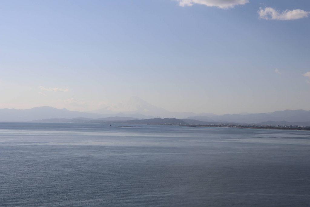 江ノ島魚見亭からの富士山