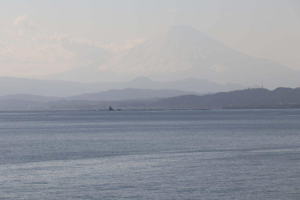 稚児が淵からの富士山