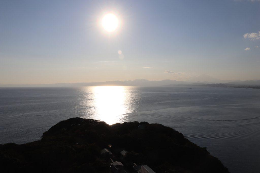江ノ島シーキャンドルからの眺め