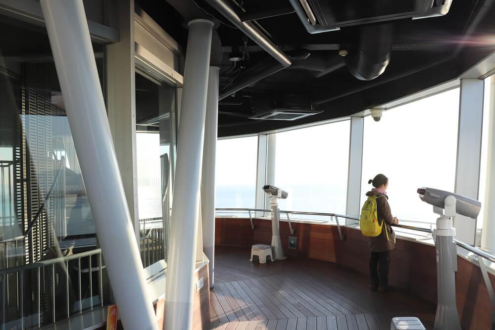 江ノ島シーキャンドルの展望台