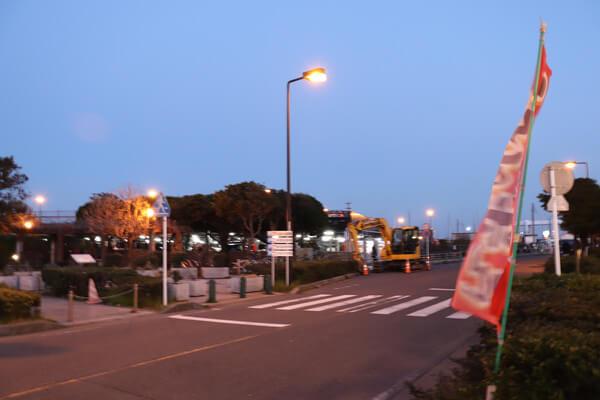 江ノ島の駐車場