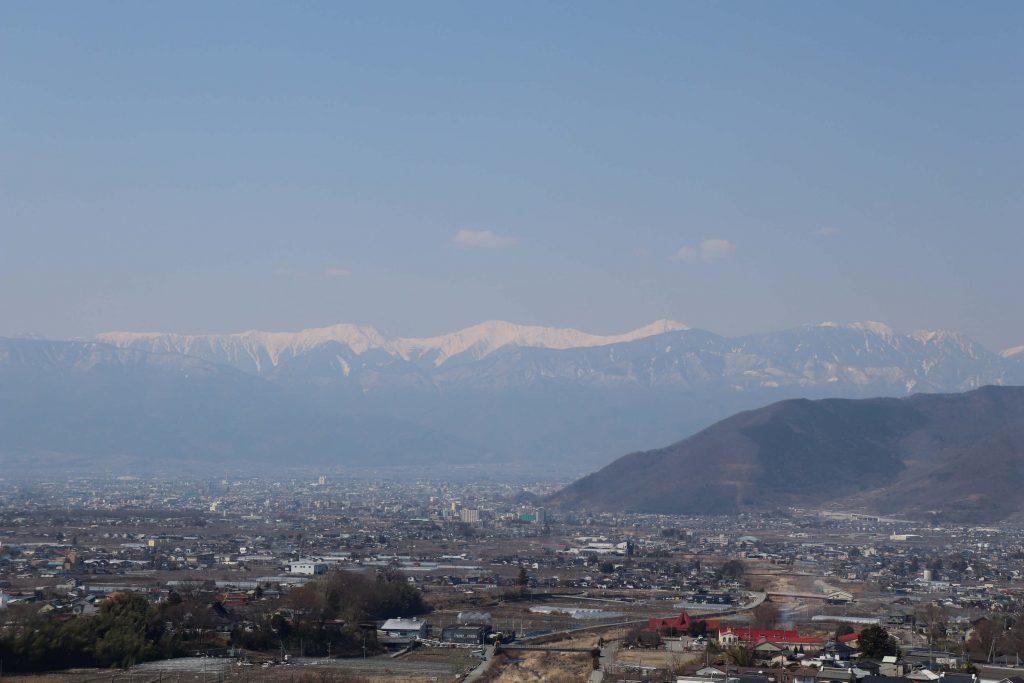 南アルプスの北岳