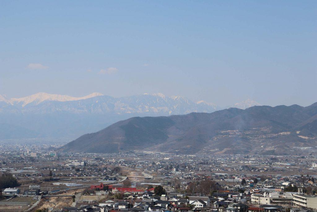 南アルプスの甲斐駒ケ岳