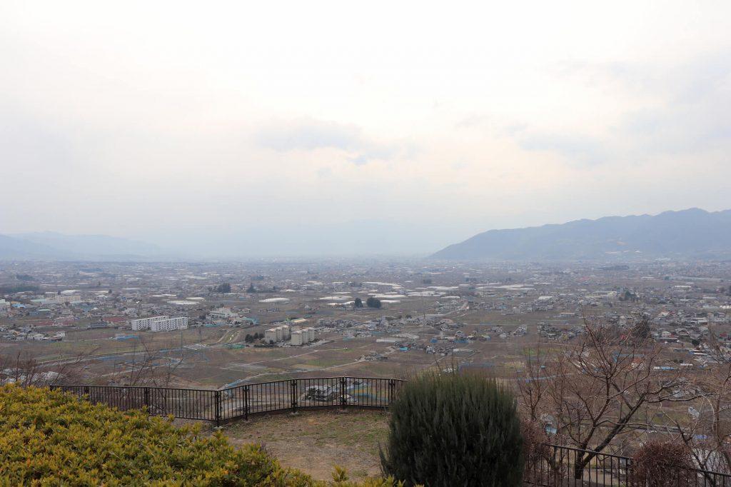 ぶどうの丘の眺め