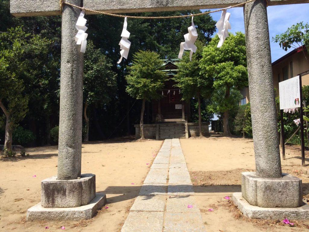 杉浦が玉砕した神社