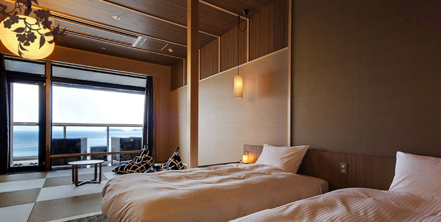 淡路島のおすすめの高級旅館 渚の荘 花季