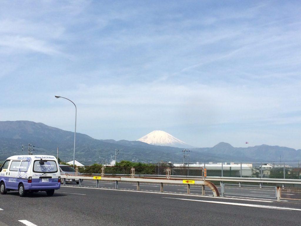 小田原PAから見える富士山