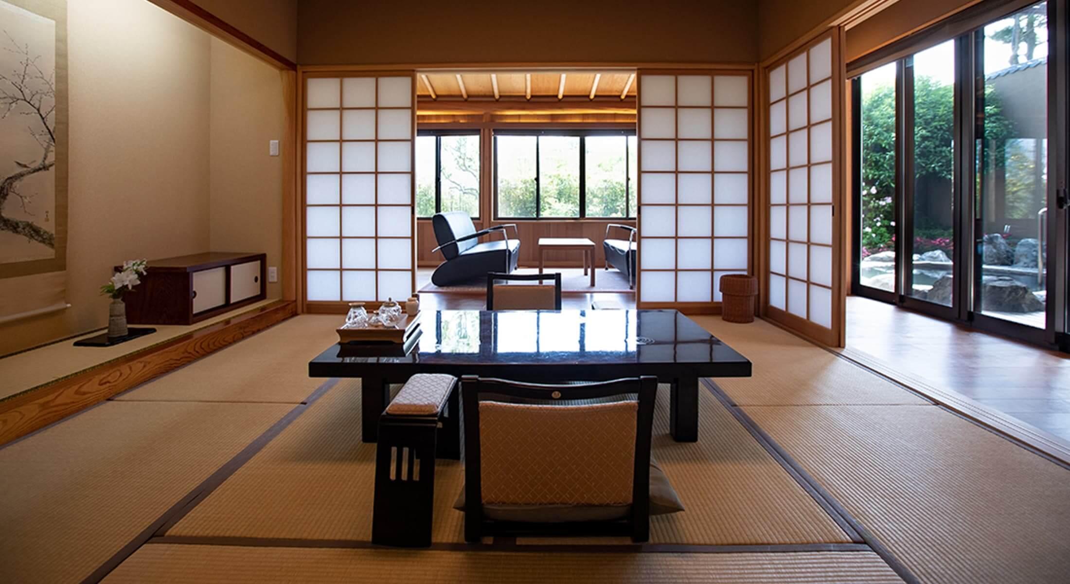 別府の高級旅館 山荘 神和苑
