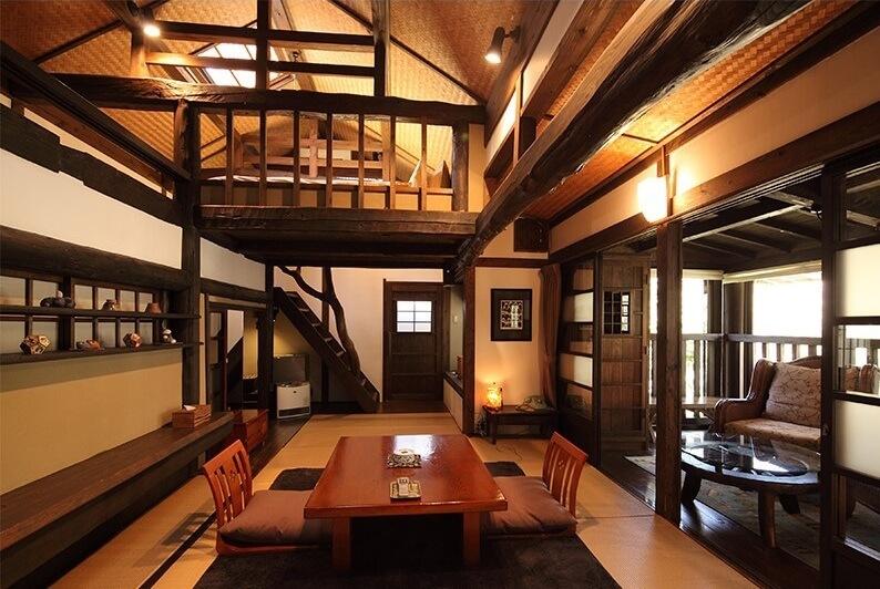 黒川温泉の高級旅館 お宿のし湯
