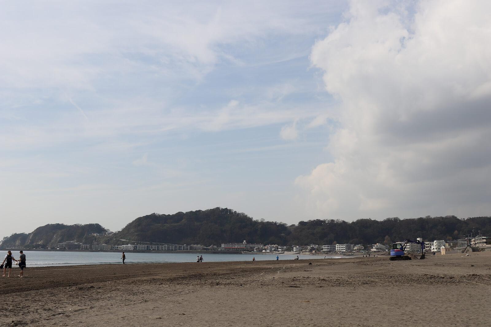 鎌倉の由比ケ浜