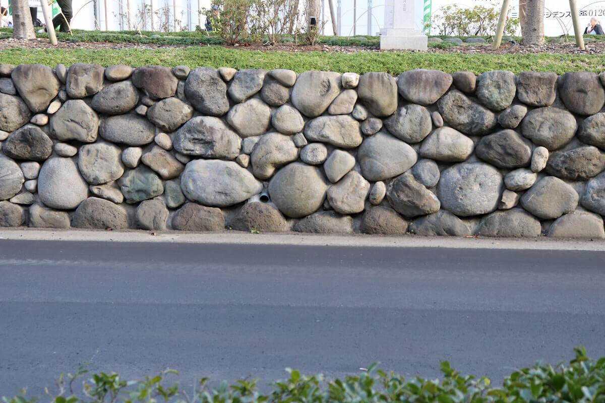 段葛の石垣