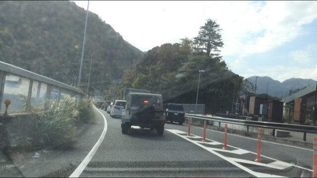 箱根新道 国道1号線からの合流