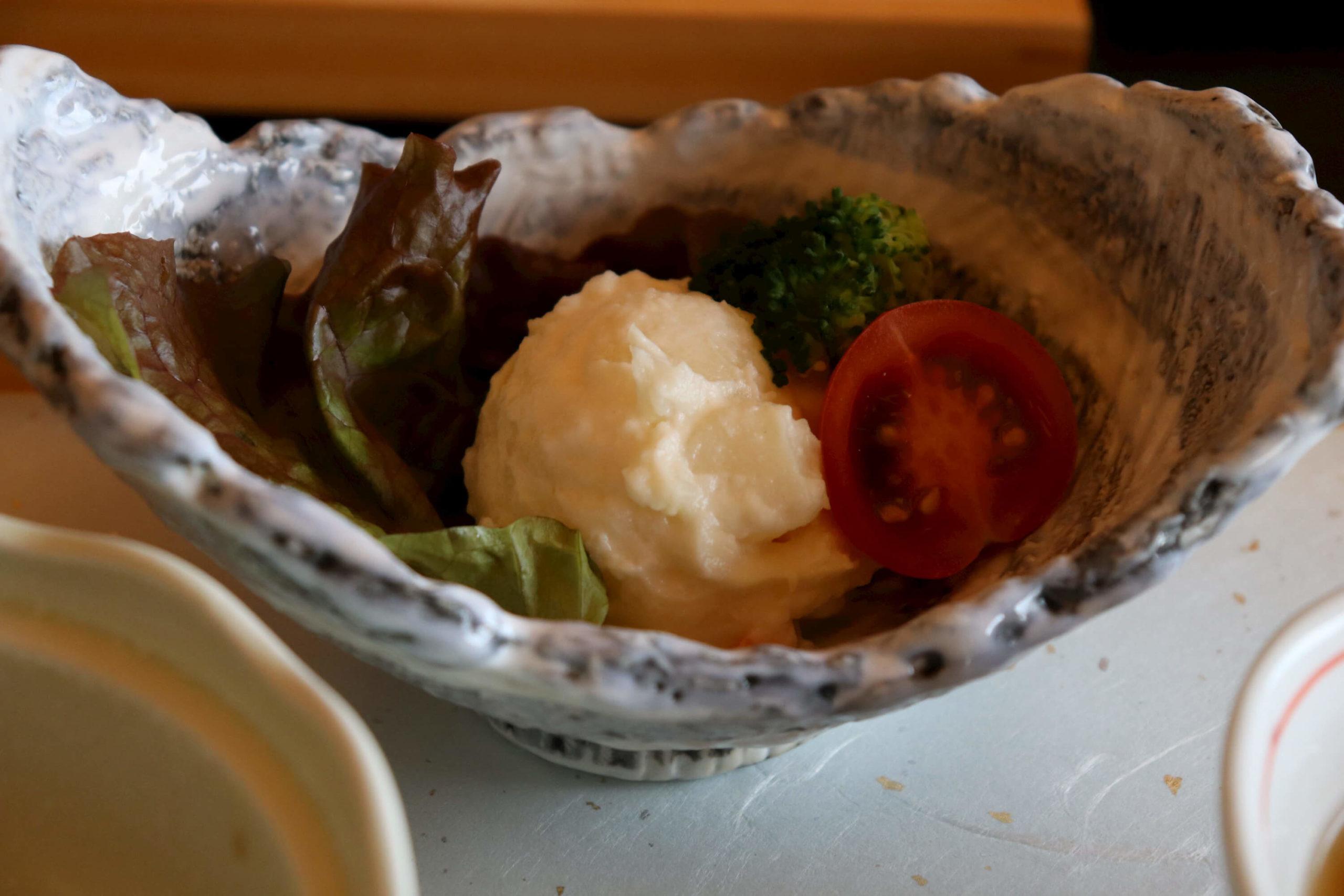 浜の湯の朝食:ポテトサラダ