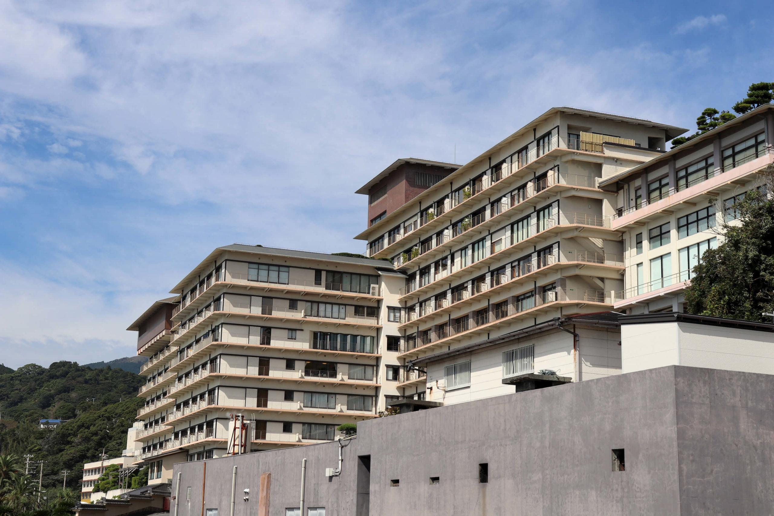 伊豆稲取のオーシャンビュー旅館の稲取銀水荘
