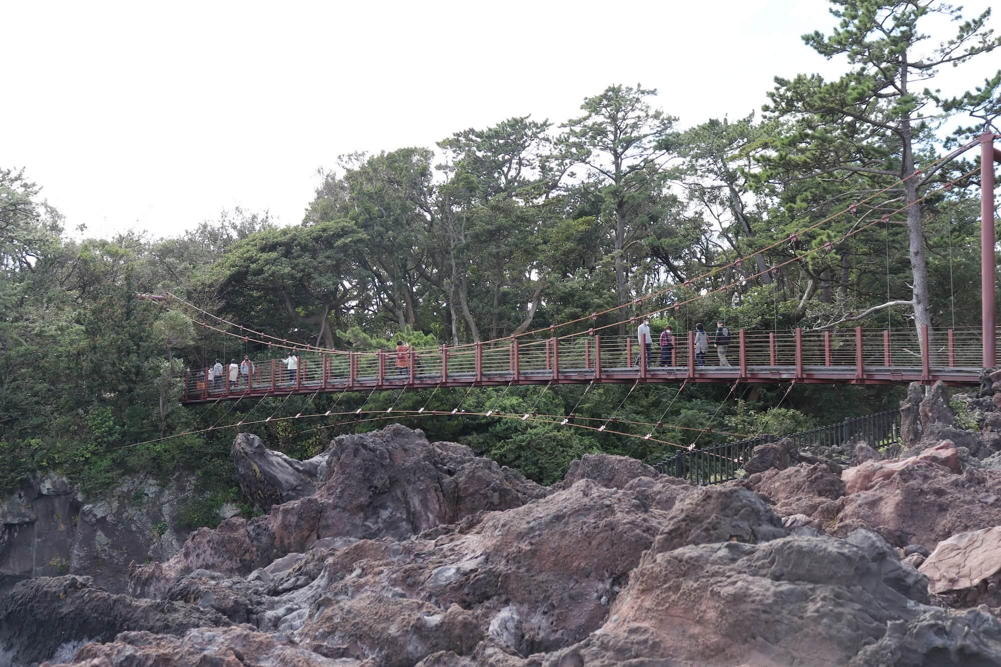 城ヶ崎の門脇吊り橋