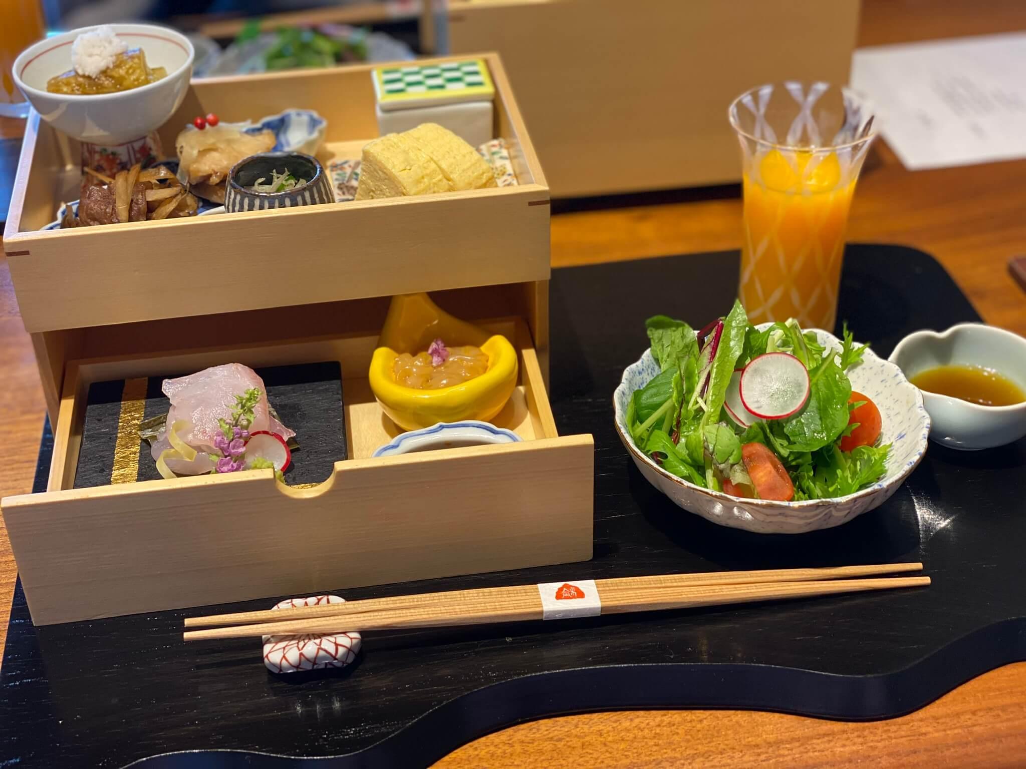 熱海の高級旅館:熱海さんがの料理(慶太ブログ)