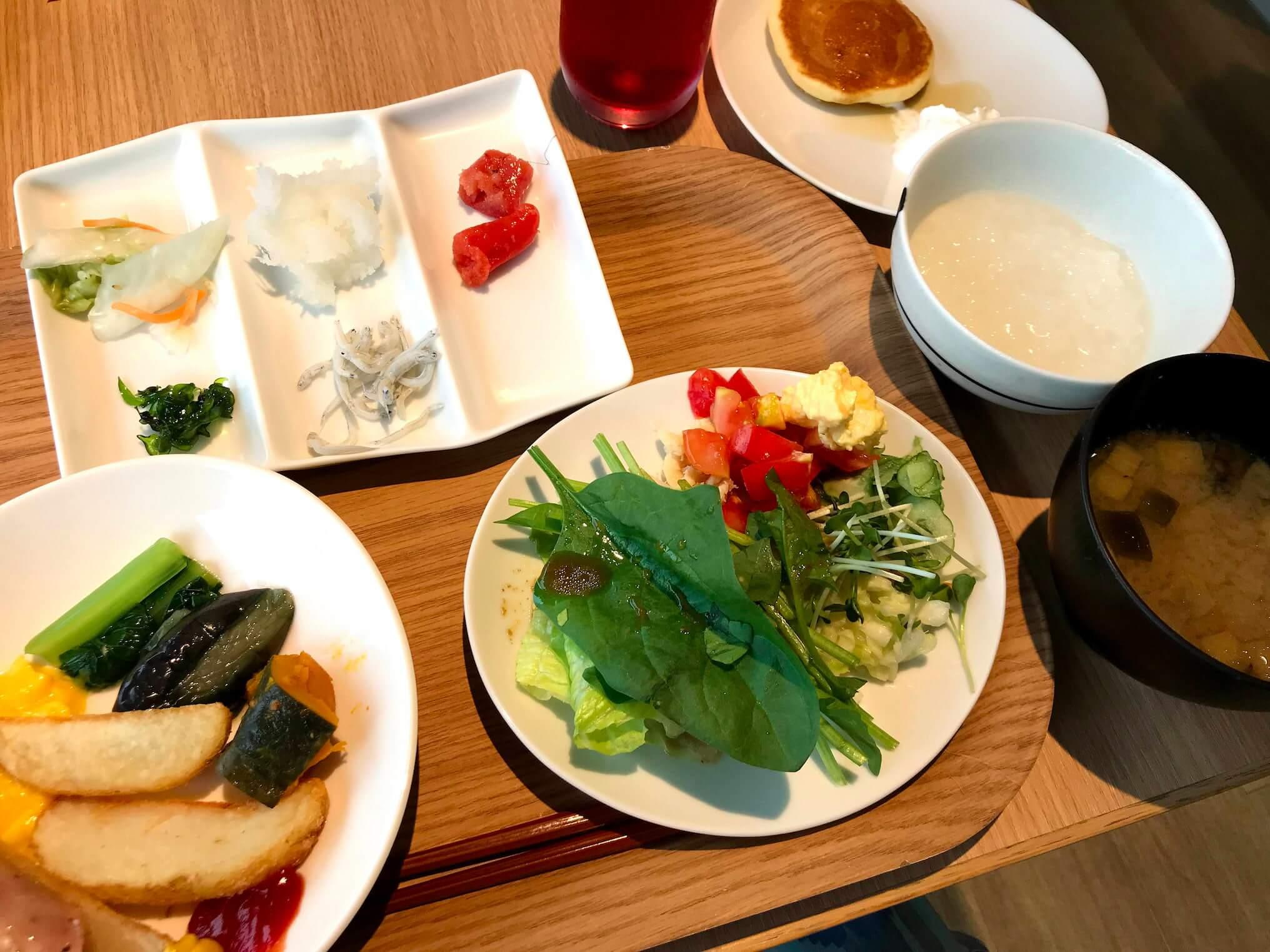 箱根はなをりのブッフェ朝食(慶太ブログ)