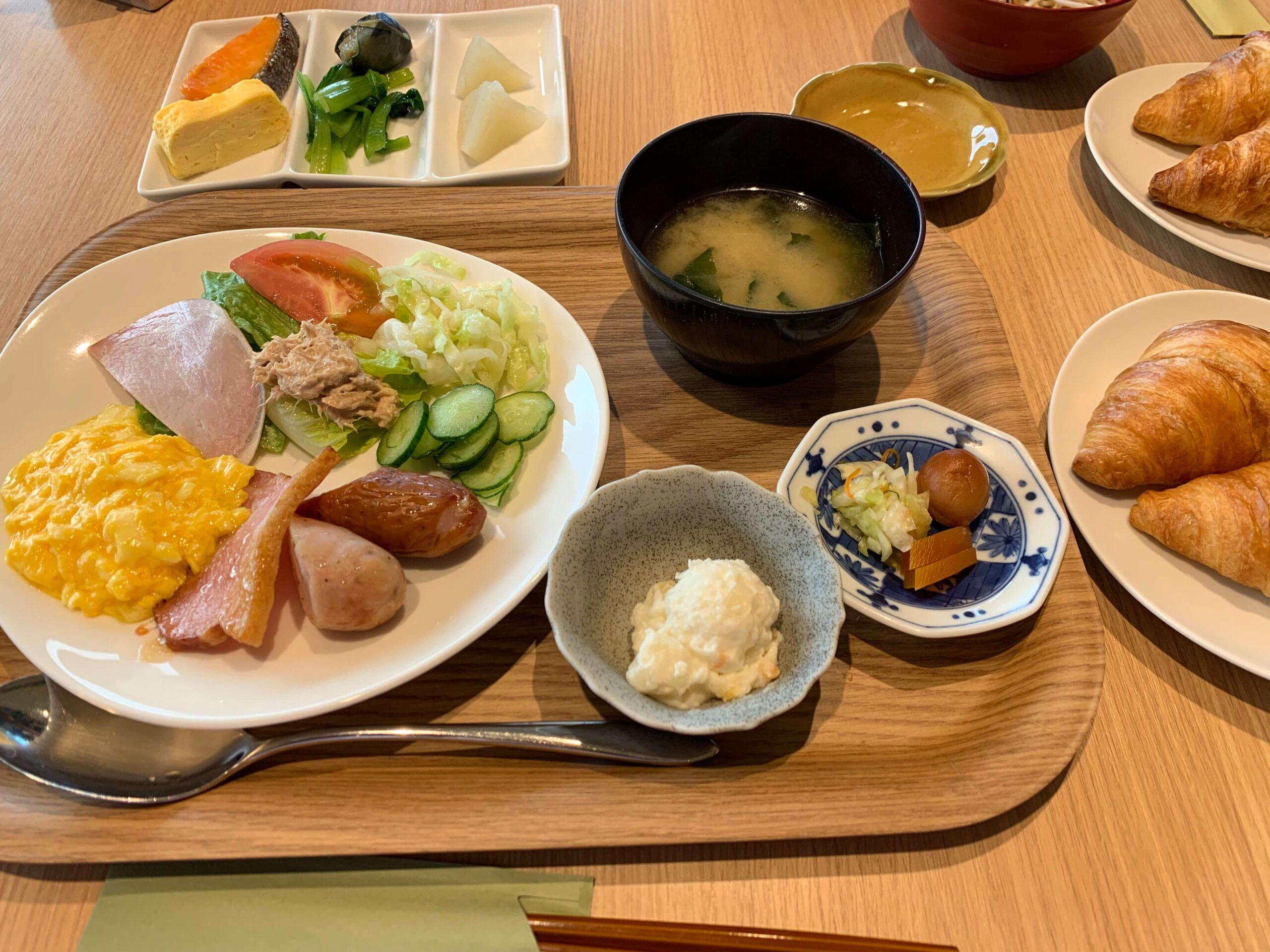 箱根はなをりの朝食1