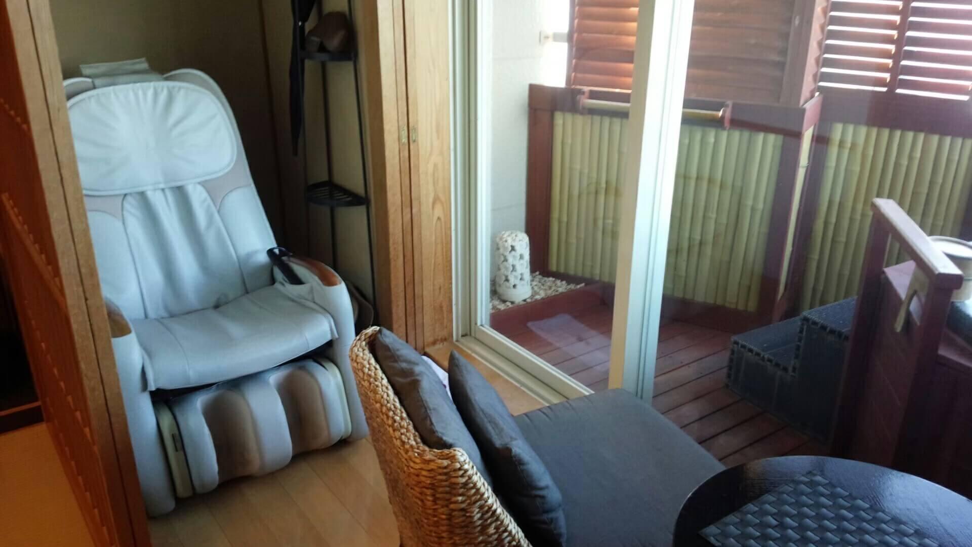 伊豆の高級旅館、風の薫の客室(慶太ブログ)