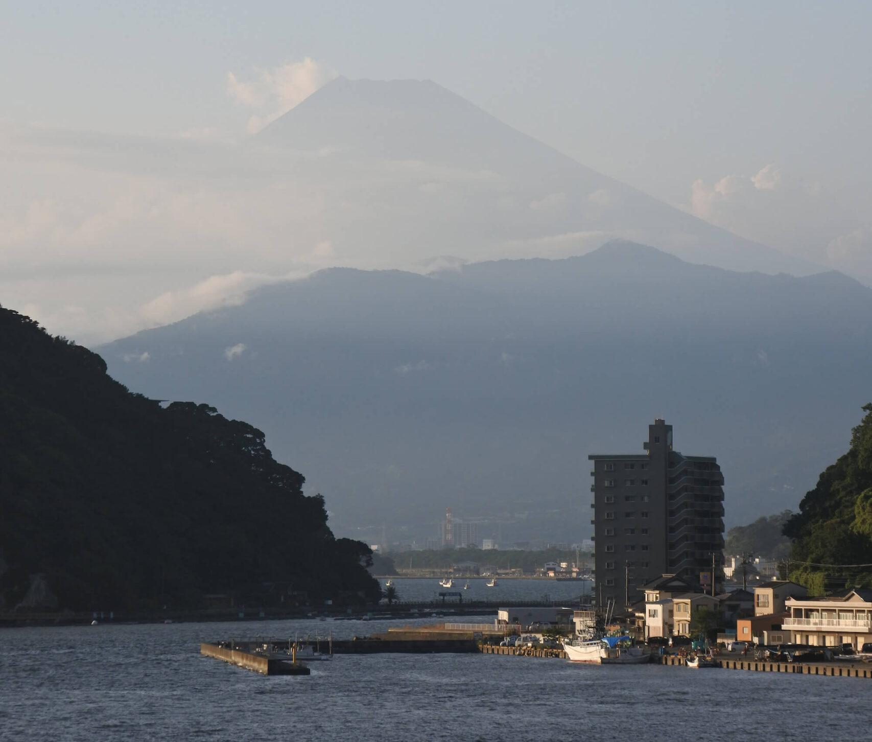 伊豆の高級旅館:松濤館からの富士山(慶太ブログ)