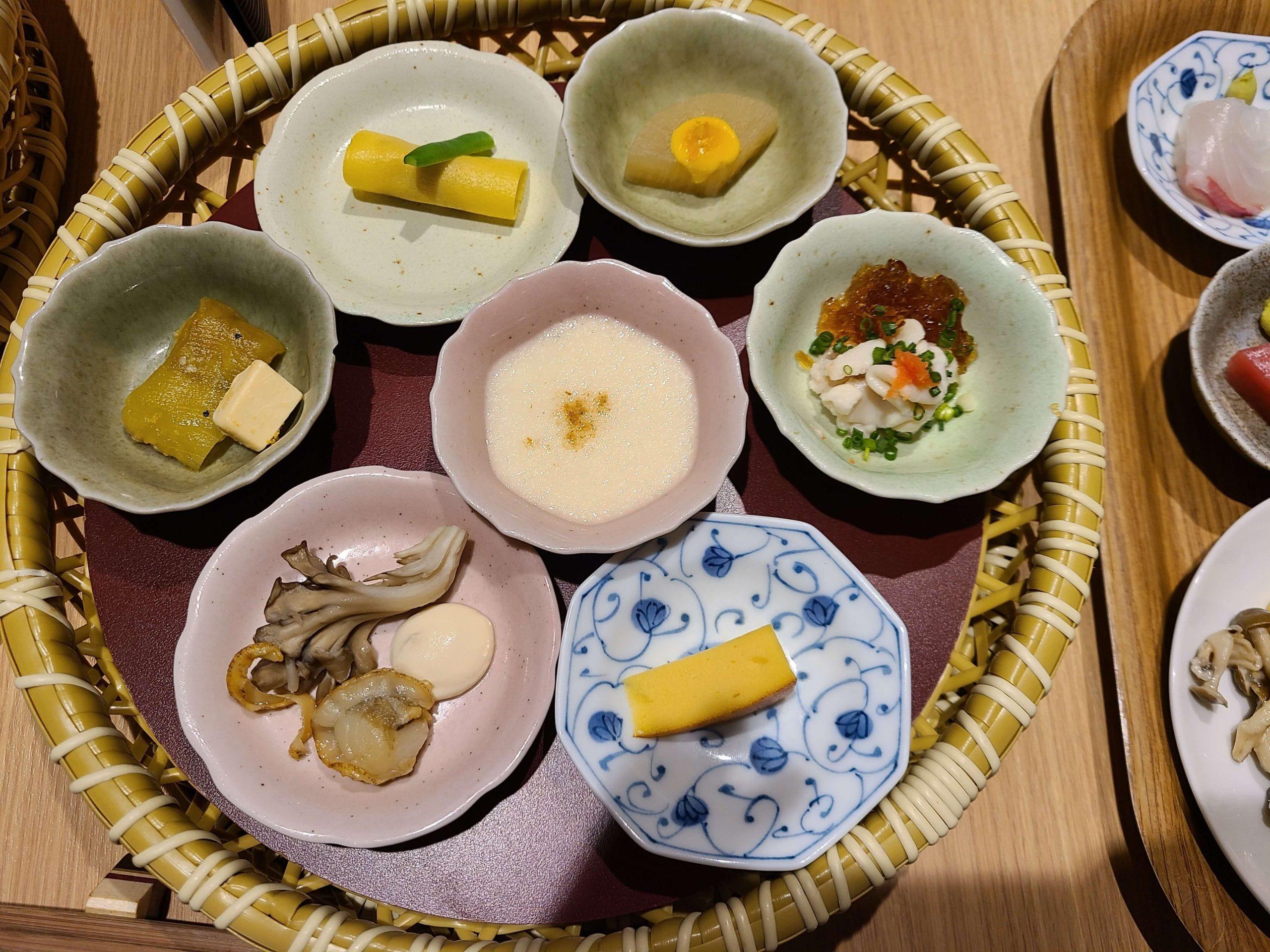 箱根はなをりのブッフェ夕食1