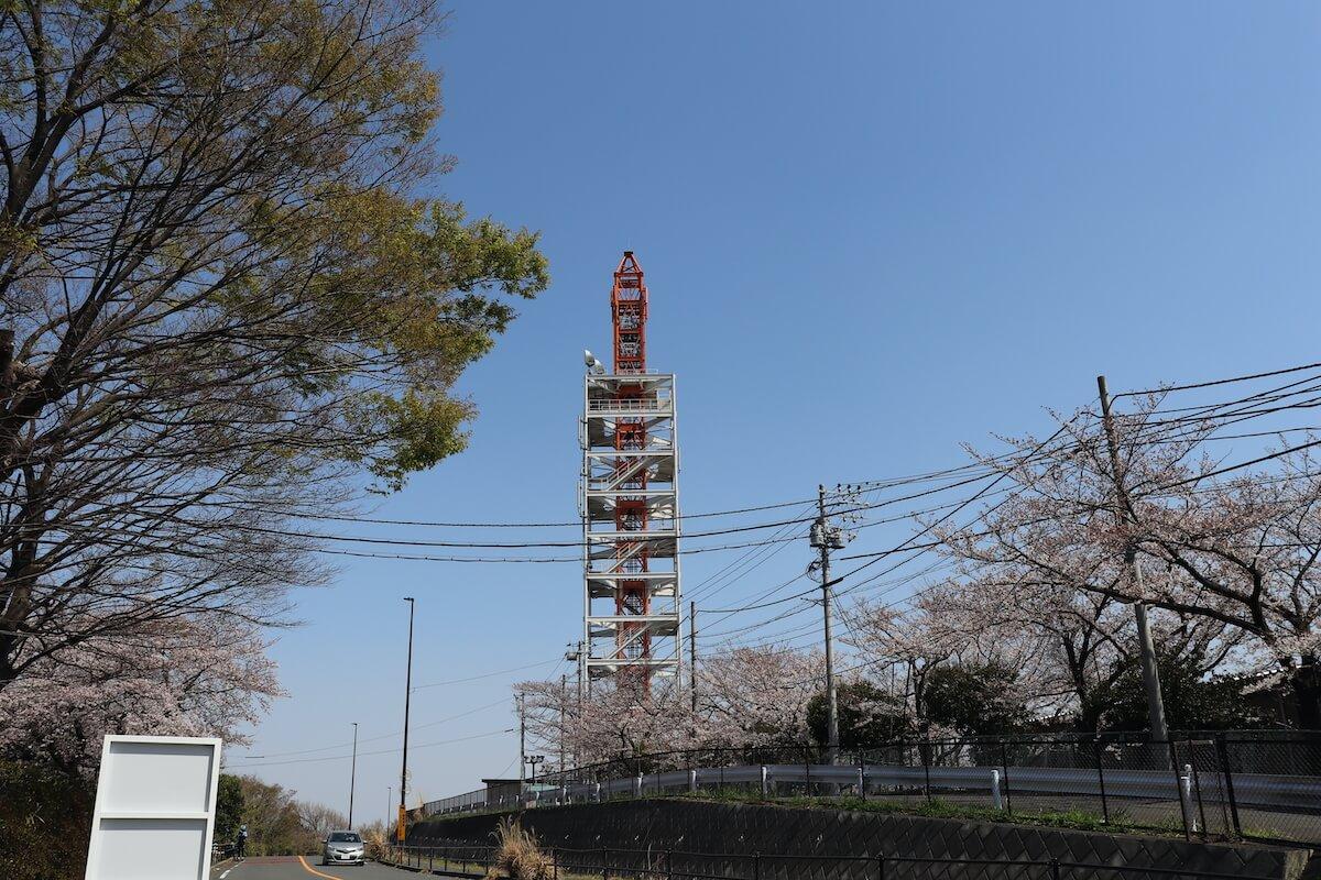 よみうりランドのタワー