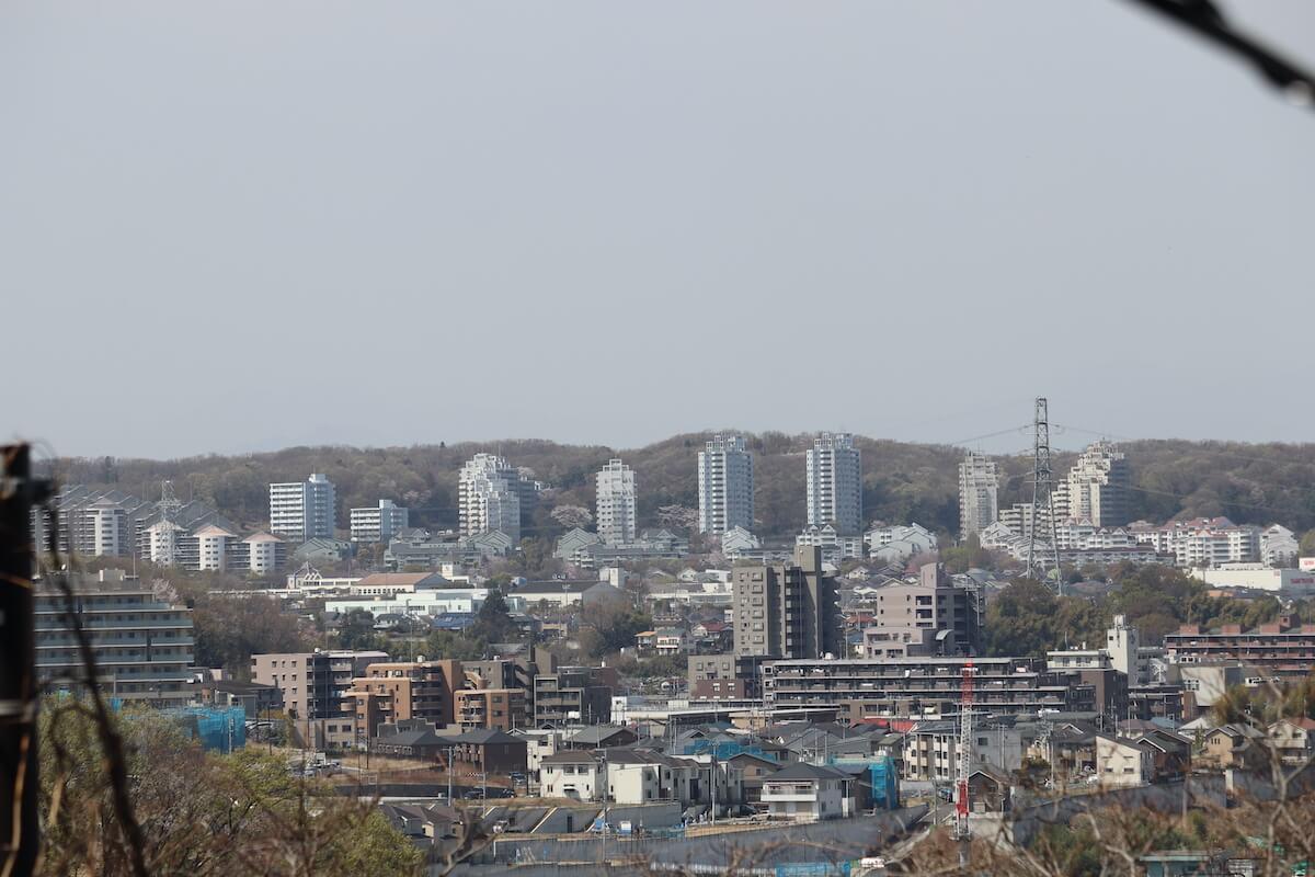 よみうりランドの景色