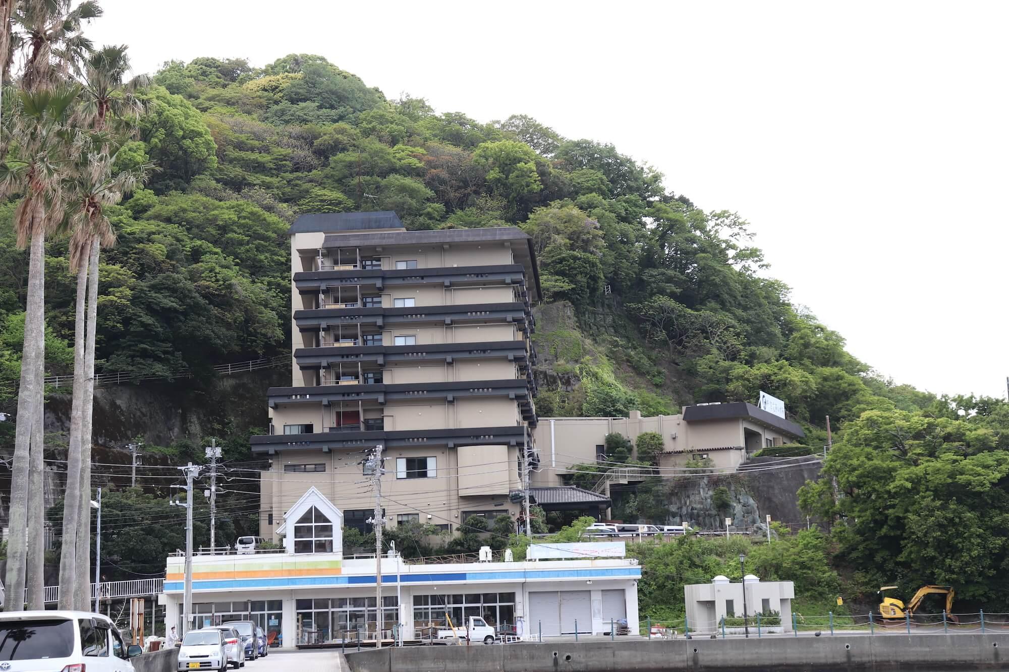 西伊豆土肥海水浴場の新海花亭