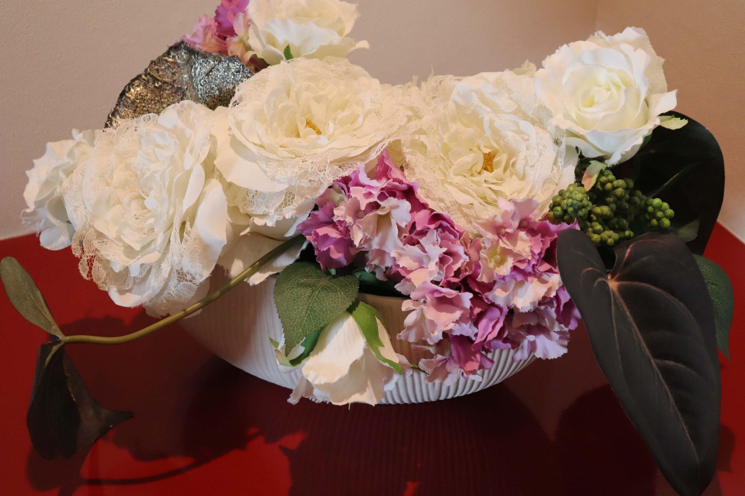 粋松亭やさしさに包まれて客室のお花