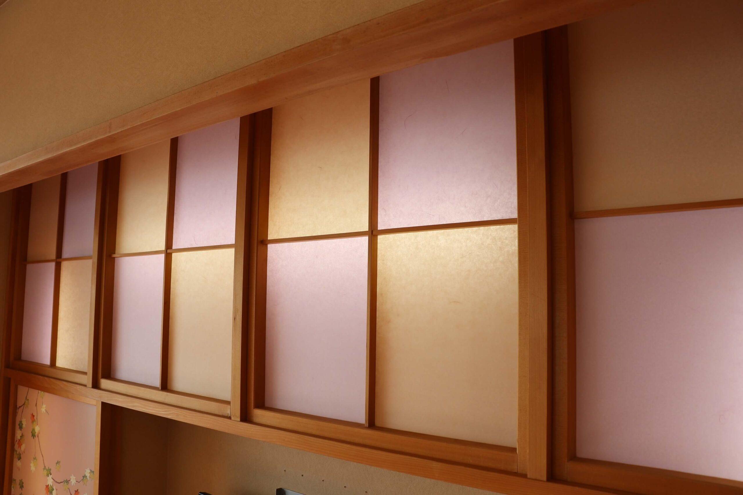 粋松亭やさしさに包まれて客室の装飾