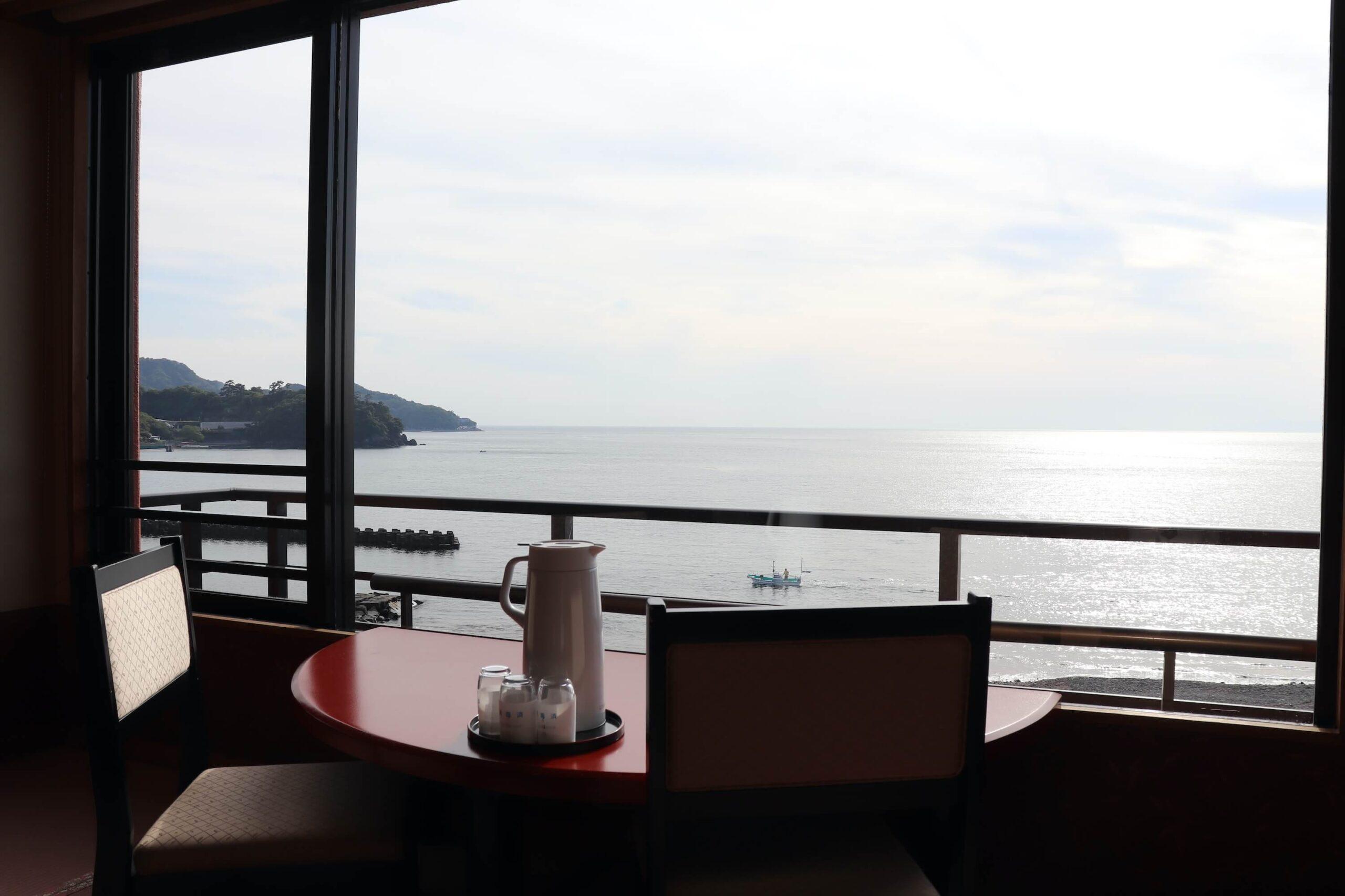 粋松亭やさしさに包まれて客室の海の眺め