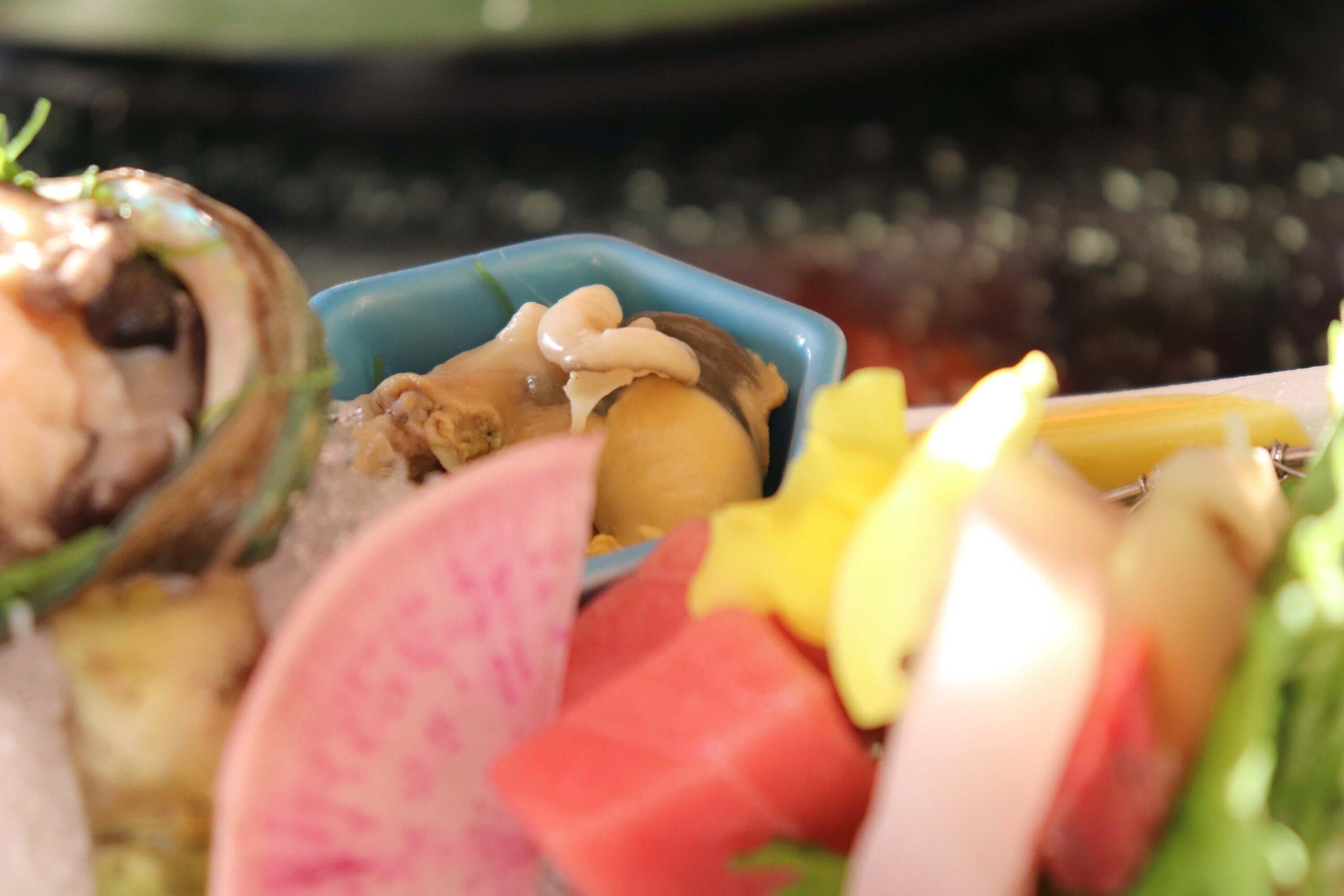 粋松亭の絆会席料理(夕食)の中トロ
