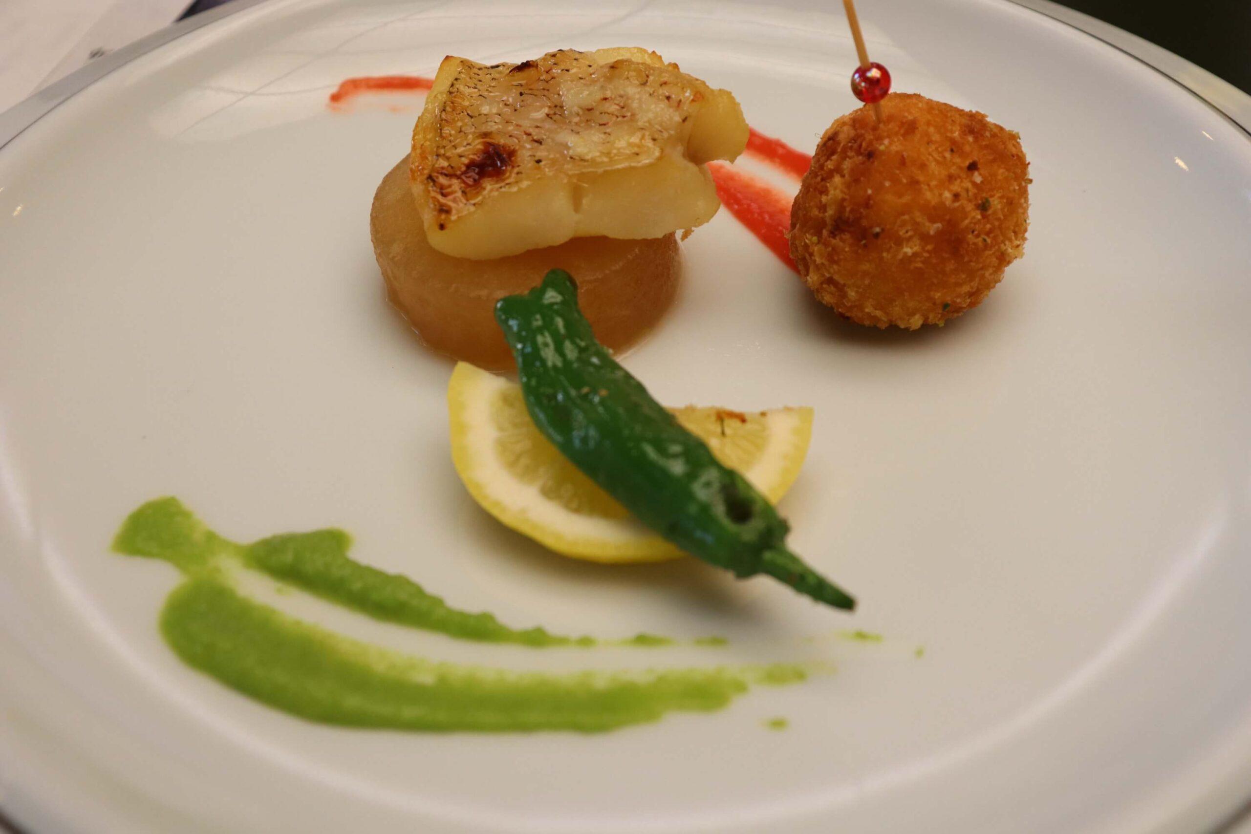 粋松亭の絆会席料理(夕食)の焼き物