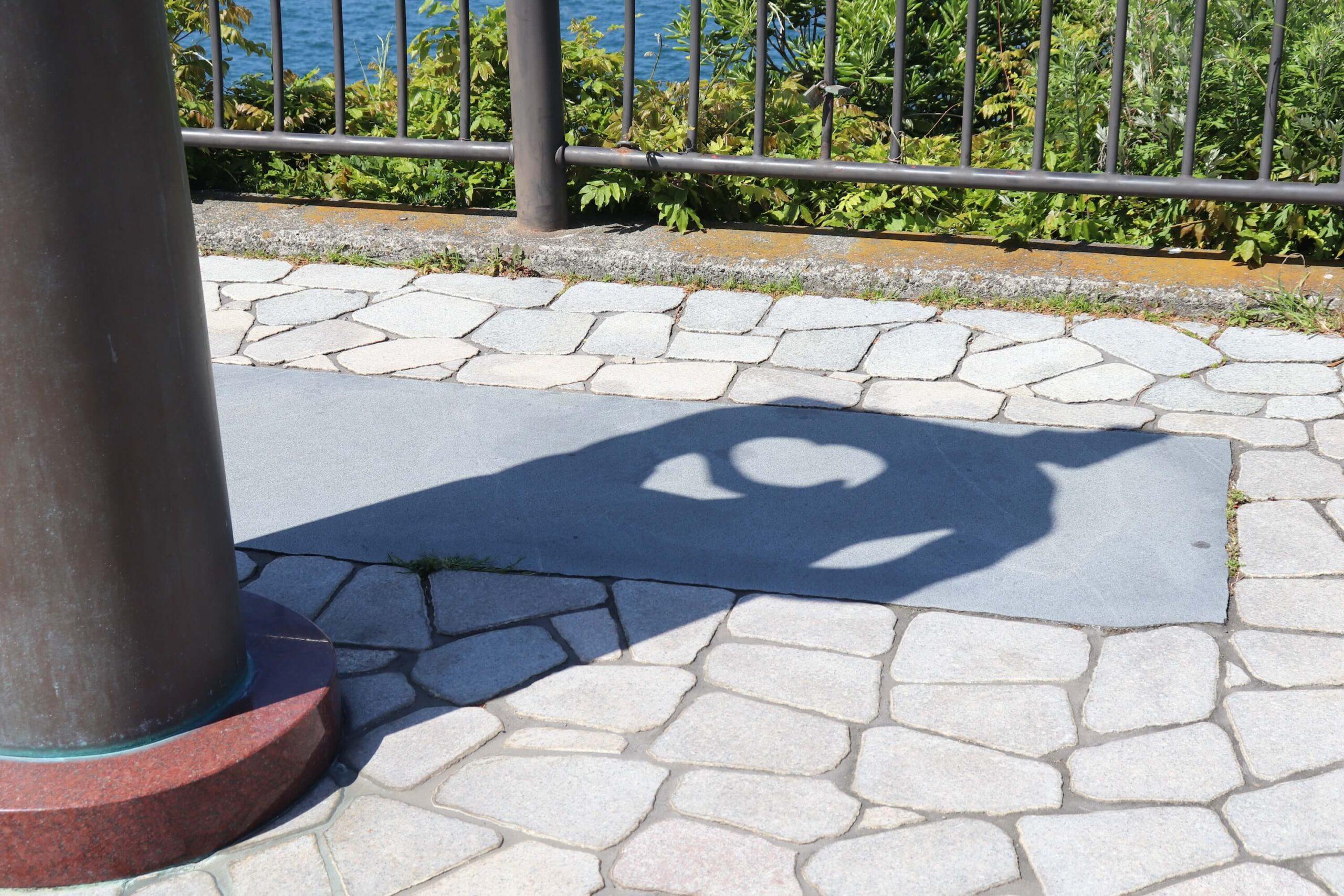 旅人岬の影