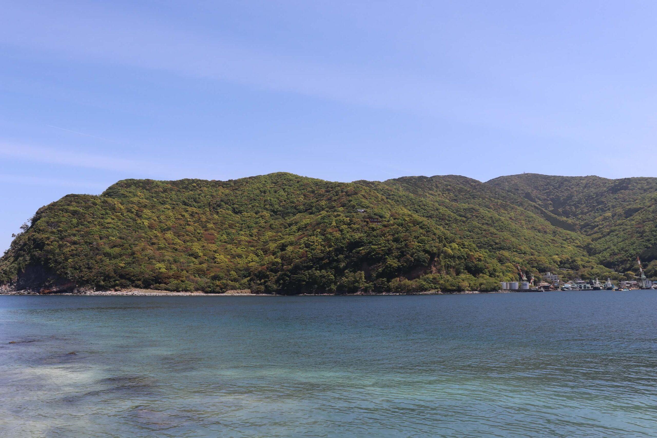 戸田の御浜岬海水浴場