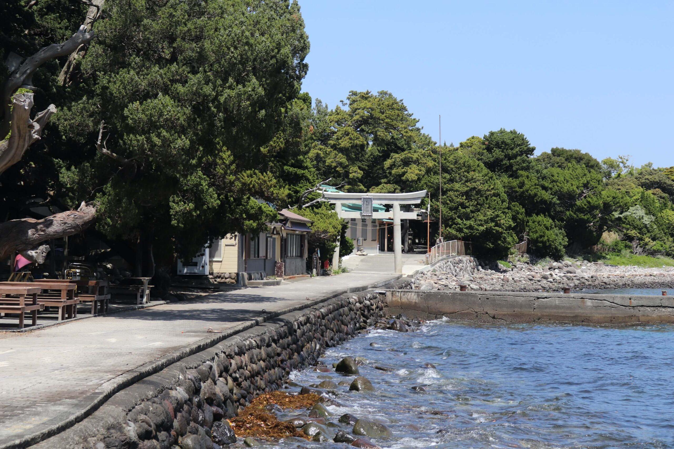 沼津の大瀬崎神社