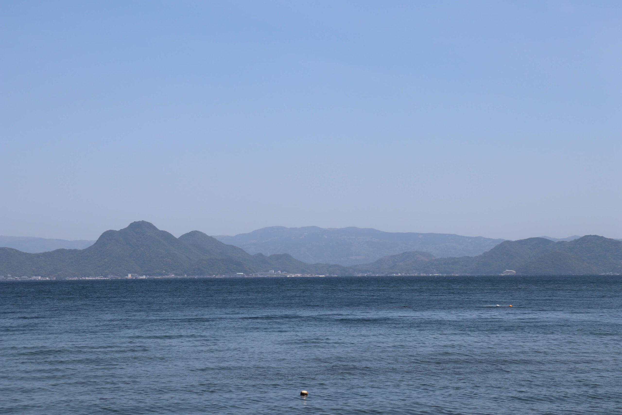 沼津の大瀬崎からの函南